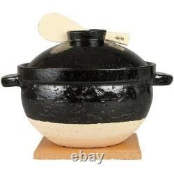 NAGATANIEN Donabe Rice Cooker KAMADO SAN CT-50 CT50 5 Rice Cups