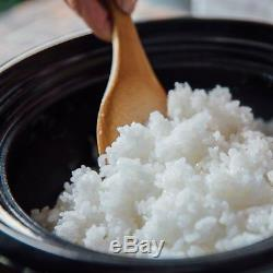 NAGATANIEN Siroca Donabe Rice Cooker 3 Cups Electrical KAMADO SAN Denki SR-E111