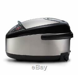 NEWTiger JAX-T10U-K 5.5-Cup Uncooked Micom Rice Cooker /Food Steamer & Slow