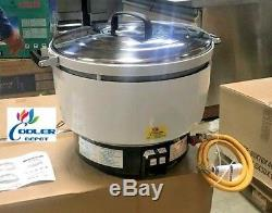 NEW 55 Cup Propane or Gas Rice Cooker Warmer Cooler Depot Model RN10L