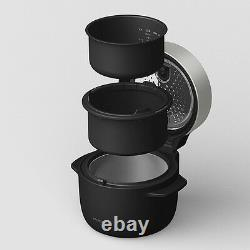 NEW BALMUDA The Gohan 3 cups Exclusive Rice Cooker Cookware K03A-BK K03ABK Black