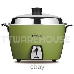 NEW TATUNG 10-CUP TAC-10L-NCG All Stainless Rice Cooker GREEN 110V US POWER PLUG