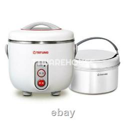 NEW TATUNG AC-03D-W 3-Cup Indirect Heat Rice Cooker Steamer and Warmer (AC110V)