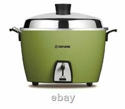 NEW TATUNG TAC-10L 10 CUP Rice Cooker Pot Voltage AC 110V (Green)