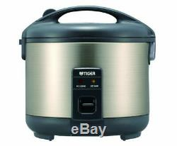 NEW Tiger JNP-S10U-HU 5.5-Cup (Uncooked) Rice Cooker and Warmer, Stainless Ste