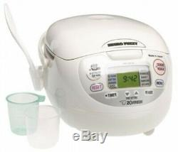 NEW ZOJIRUSHI NS-ZCC10 Rice Cooker 1.0L (5.5Cups) 120V / 60Hz from JAPAN