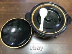 Nagatanien Donabe Rice Cooker KAMADO SAN CT-50 CT50 5 Rice Cups KAMADOSAN /USED/