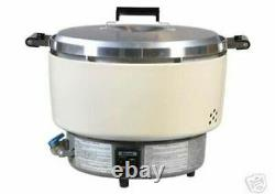 Natural Gas Rice Cooker Maker Commercial (55 Cups) Restaurant Quality NSF
