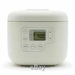 New MUJI Rice cooker with rice paddle rest 3 cups MJ-RC3A