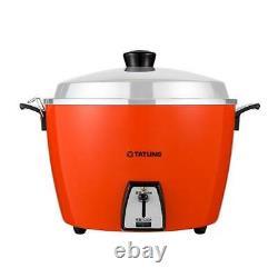 New TATUNG TAC-06L 5 CUP Rice Cooker Pot AC 110V Red