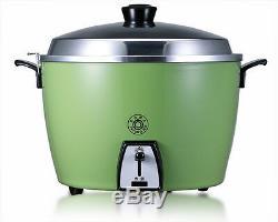 New TATUNG TAC-06L-CG 5 CUP Rice Cooker Pot AC 110V Green DHL Ship Taiwan