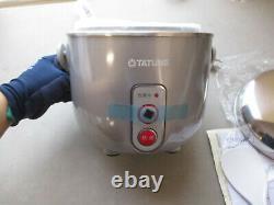 New Tatung TAC-03D-NS Indirect Heat Rice Cooker Steamer Warmer 3Cup AC 110V