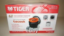 New Tiger Micom JAX-R10U 5.5-Cup (Uncooked) Rice Cooker & Warmer Made in Japan