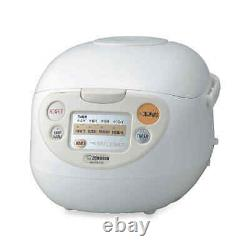 New ZOJIRUSHI 5.5 Cup MICOM RICE COOKER & WARMER Stainless Steel Nonstick