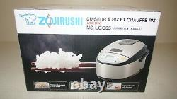 New Zojirushi Micom NS-LGC05 3 Cup (Uncooked) Rice Cooker & Warmer Stainless