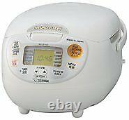 New Zojirushi overseas Microcomputer rice cooker cook 5 cup NS-ZLH10-WZ 220-230V