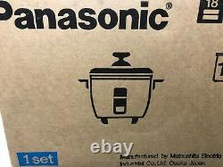 New in box Panasonic 10 cups Rice Cooker Steamer made in Japan