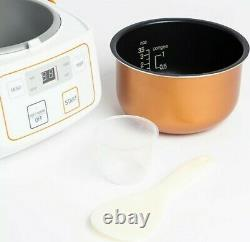 Nutrifresh compact multifunctional rice cooker 0.72L Rice bowl / 3.5 cups