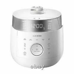 OB Cuckoo CRP-LHTR1009F 10 Cup Induction Heating Twin Pressure Rice Cooker & War