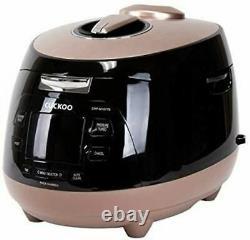 OB Cuckoo CRP-M1077S Pressure Rice Cooker, 10 Cups, Brown/Black
