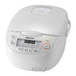 Panasonic SR-CN108 5-Cups Uncooked Rice and Grains Multi-Cooker, White