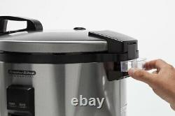 Proctor Silex Commercial Rice Cooker 40 Cup Capacity Easy To Clean 1250W 37540