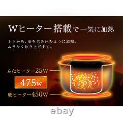 Rice Cooker 3.0 cups White Iris Oyama RC-MD30-W Authentic from Japan withTracking#