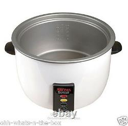 Rice Cooker Commercial Size 60 Cup Cooked 30 Uncooked Automatic Warmer Catering