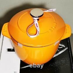STAUB Enameled Cast Iron La Cocotte de Gohan M 16 cm Mustard 2cup Rice Cook Pot
