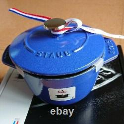 STAUB La Cocotte de GOHAN S size Limited Color Blueberry Rice Cooker 1 cup pot/5