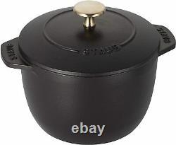 STAUB La Cocotte de Gohan S 12cm Black 1 cup of Rice Cook Pot 40509-653