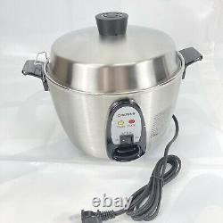 Steel Rice Cooker by Tatung modelTac-06kn(ul) 6 Cup Multi-functional Stainless