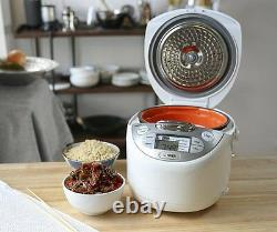 TIGER JAX-S10U 5.5 cup Microcomputer Controlled Rice Cooker & Warmer SLOW COOKER