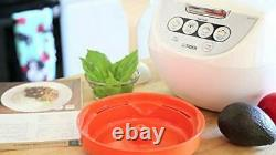 TIGER JBV-A10U 5.5-Cup (Uncooked) Micom Rice Cooker with Food Steamer Basket