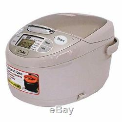 TIGER Rice Cooker JAX-S10W CZ AC220V 5.5 cup 1L Made in Japan EMS withTracking NEW