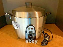 Tatung 11-Cup Stainless Steel Multi-Functional Rice Cooker TAC-11KN Pre-owned