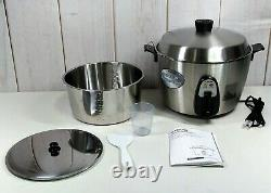 Tatung TAC-11KN(UL) 11 Cup Multi-Functional Stainless Steel Rice Cooker