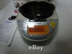 Tiger Corporation JKT-B10U C Induction Heating 5.5-Cup (Uncooked) Rice Cooker