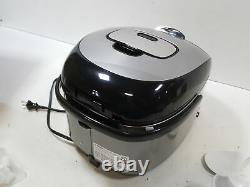 Tiger Corporation JKT-D18U 10-Cup (Uncooked) IH Rice Cooker, stainless steel