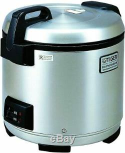 Tiger JNO-A36U-XB 20-Cup (Uncooked) Commercial Rice Cooker and Warmer, Stainless