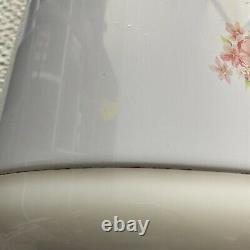 Tiger JNP-0550-FL 3-Cup (Uncooked) Rice Cooker & Warmer Floral White