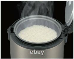Tiger JNP-S15U, 8-Cup Rice Cooker and Warmer, Urban Satin