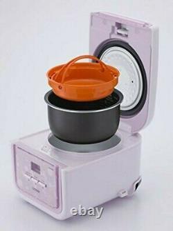 Tiger microcomputer rice cooker tacook 3 Cup JAJ-A552-PB 490471041793