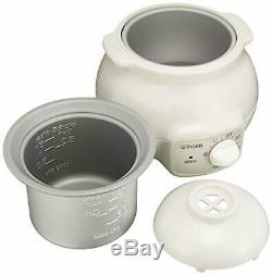 Tiger rice cooker CFD-B280-C electric porridge bowl 3 cups F/S withTracking# Japan