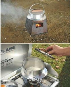 UNIFLAME Cooking camps 3-cup/ Rice Cooker and Food/ OUTDOOR