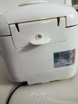 ZOJIRUSHI Fuzzy Logic 5 cup electric rice cooker & warmer, Model NS MYC10
