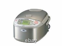 ZOJIRUSHI IH Rice Cooker 10 cups NP-HLH18 Steamer Warmer GABA 220-230V EMS WithT