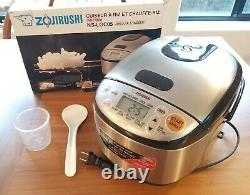 ZOJIRUSHI NS-LGC05 Rice Cooker / Warmer up to 3 (approx 6-oz) Cups Uncooked Rice
