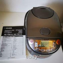 ZOJIRUSHI NS-YMH10 Electronic Rice Cooker 220-230V Brown Plug Type SE With Box
