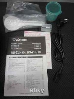 ZOJIRUSHI NS-ZLH10-WZ Electronic Rice Cooker Voltage 220-230 V Premium White